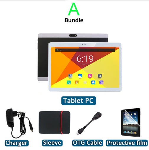 2018 nuevo 10.1 pulgadas Tablet Android Tablet PC deca / 10 Core 4G Tablet PC 64GB ROM teléfono tableta de la tableta WIFI GPS Metal cubierta bluetooth