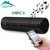 New NFC Wireless Stereo Portable Bluetooth Speaker With Bass FM Radio TF Card USB Music Aux Audio Soundbar Home Theater Boombox