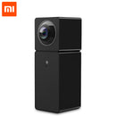 Xiaomi Hualai Xiaofang 1080P Dual Lens Panoramic View Smart WIFI IP Camera Xiaofang Dual CMOS Camera for Smart Home - Black QF3