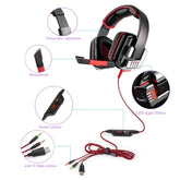 Headphone Bass Stereo Earphone with Mic Noise Cancelling Professional Wired Gaming G8000 3.5mm Headset For Computer Games
