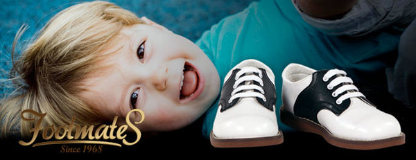 FOOTMATES DESIGNER LEATHER KIDS SHOES
