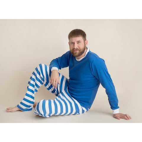 Blue and White Striped Sorority Pajamas Preorder- delivery starting in LATE DECEMBER