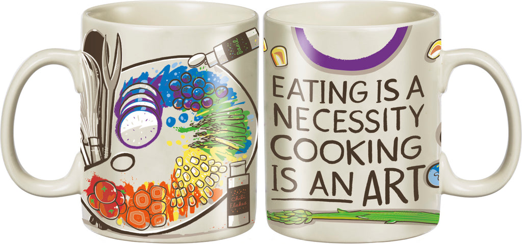 Mug - Eating Is A Necessity Cooking Is An Art