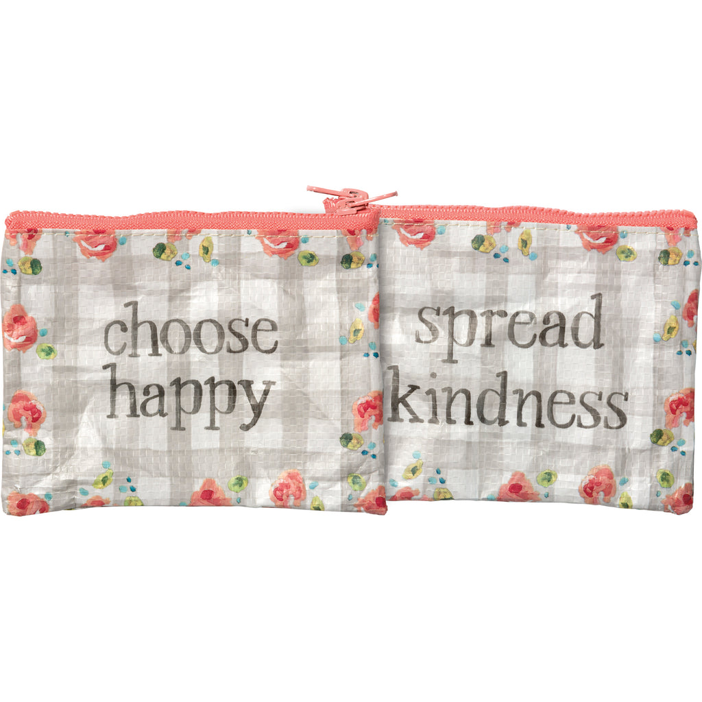 Zipper Wallet - Spread Kindness