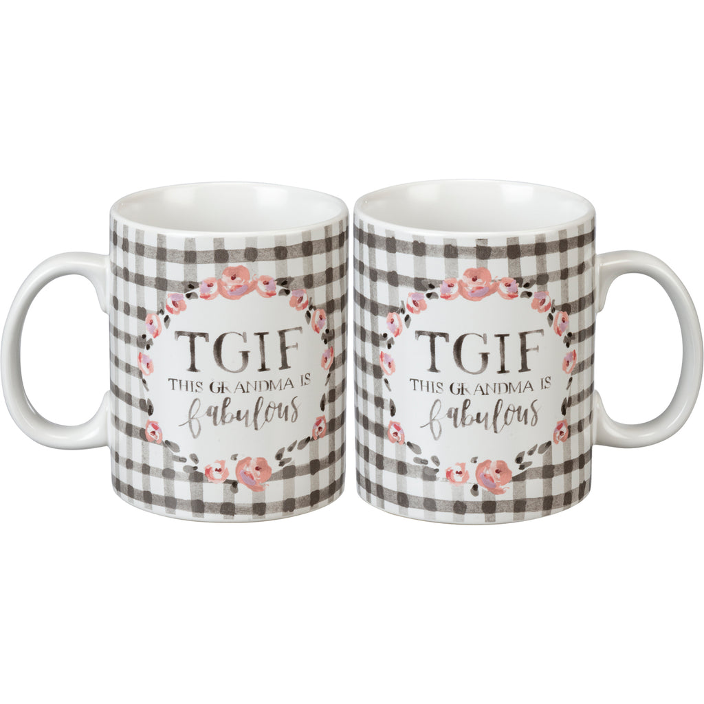 Mug - TGIF This Grandma Is Fabulous