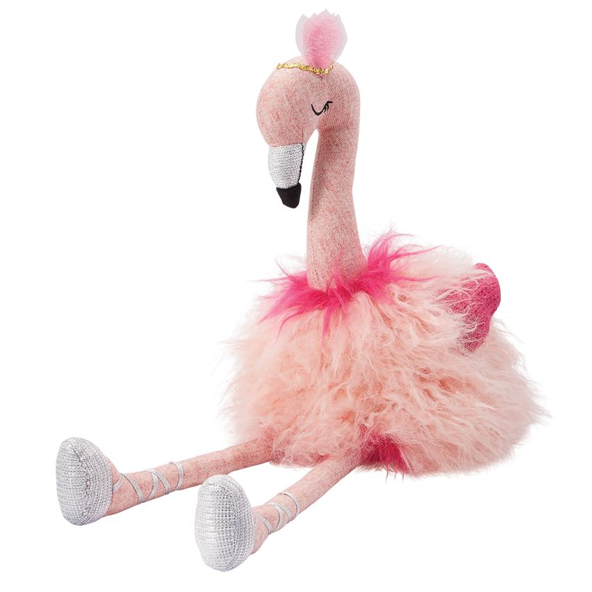 LIGHT PINK PLUSH FLAMINGO