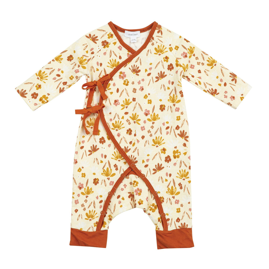 WRAP COVERALL - DAISY BABY