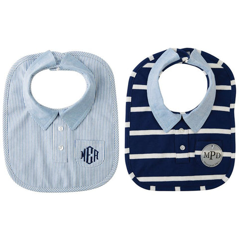 MUDPIE BUTTON DOWN BIB