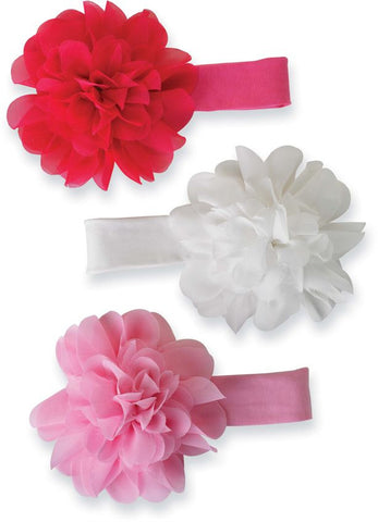 MUDPIE CHIFFON FLOWER SOFT HEADBAND