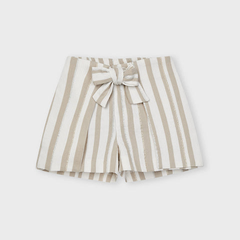Ecofriends striped shorts