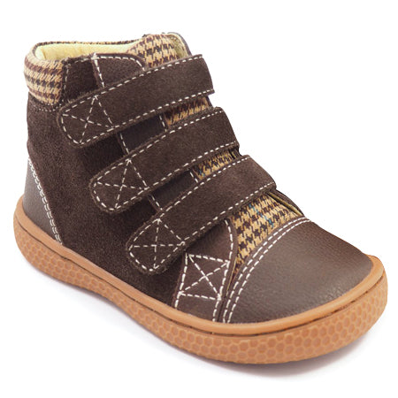 Brown Jamie High Top Sneaker Livie & Luca