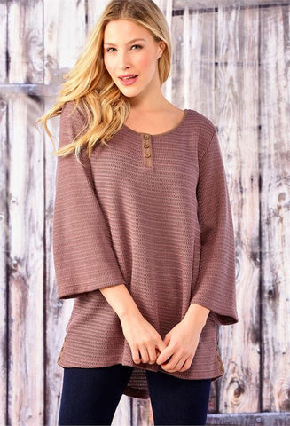KNIT LONG SLEEVE TOP BY CHARLIE PAIGE