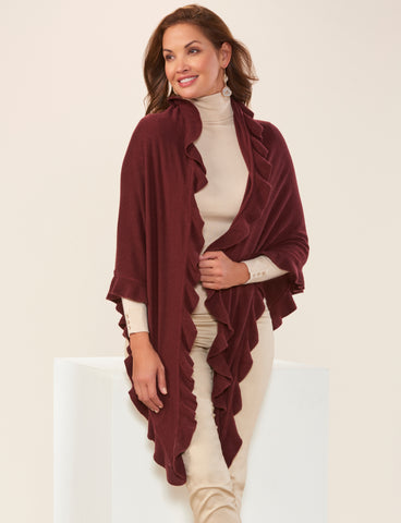 Country Shawl Cape