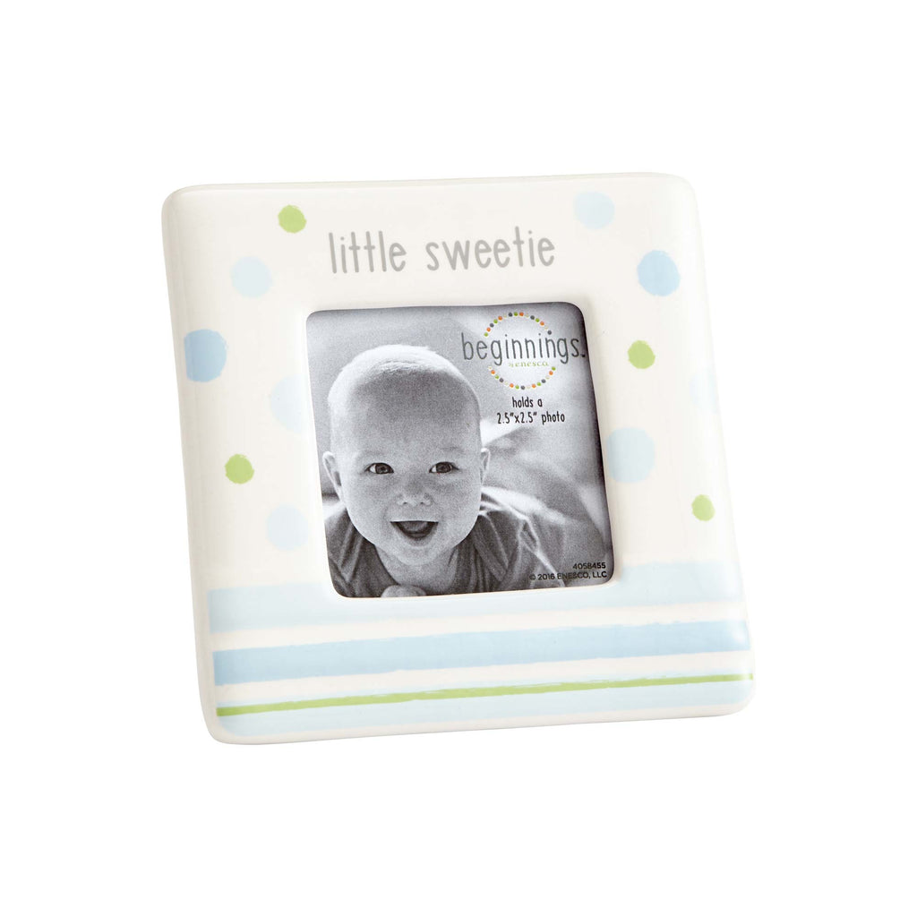 Little Sweetie Photo Frame Blue