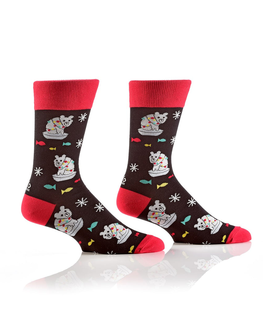 Polar Bear Men's Sock