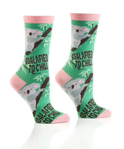 Koalafied Women's Crew Sock