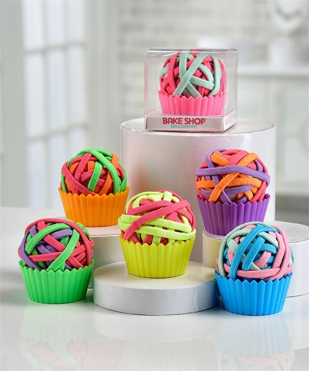 Bake Shop Boulangerie Hairband Cupcake 18pc