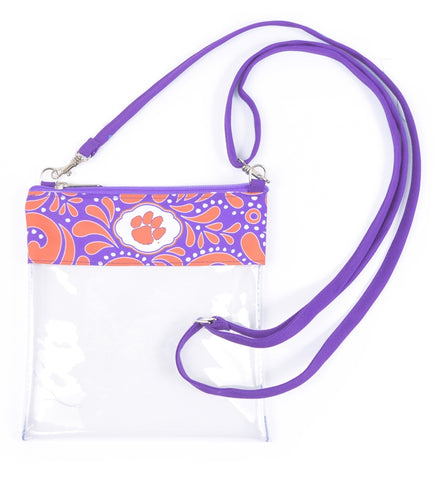 Clemson Clear Game Day Crossbody - Stadium Approved