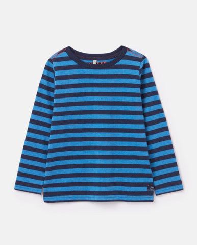 MARLIN LONG SLEEVE STRIPE T-SHIRT BLUE STRIPE