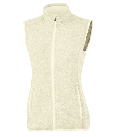 Monogrammed Women's Pacific Heathered Vest - Charles River Apparel