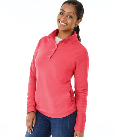 Women's Falmouth Pullover by Charles River
