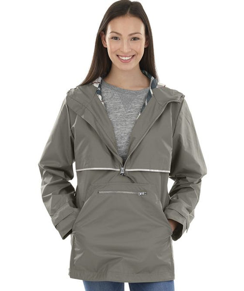 New Englander Pullover Rain Jacket by Charles River