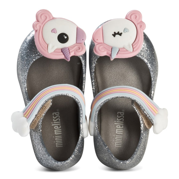 Mini Melissa Ultragirl Unicorn Silver