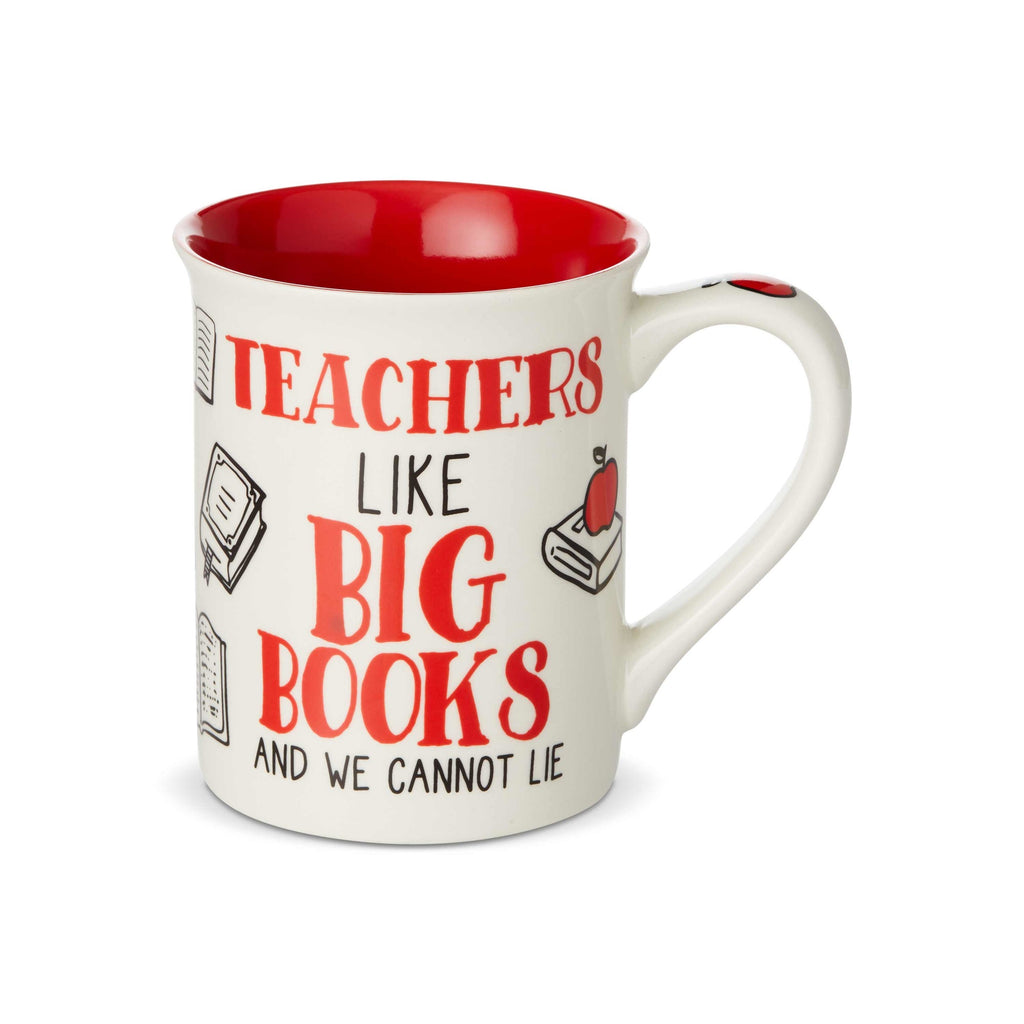 Big Books Teacher Mug