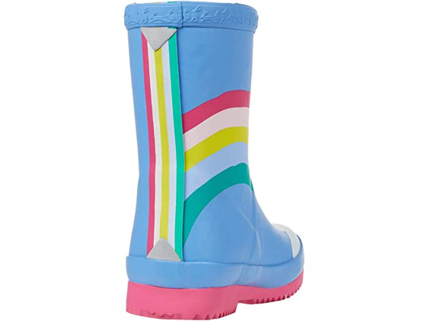 BLUE RAINBOW TODDLER WELLY