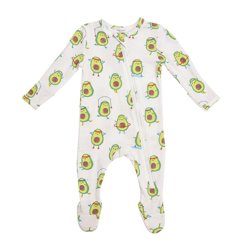 ZIPPER FOOTIE - AVO-CIZE