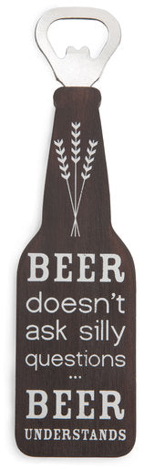 "Beer Understands - 7"" Bottle Opener Magne"