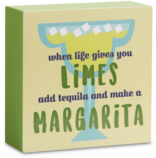 "Margarita - 4"" x 4"" Plaque"