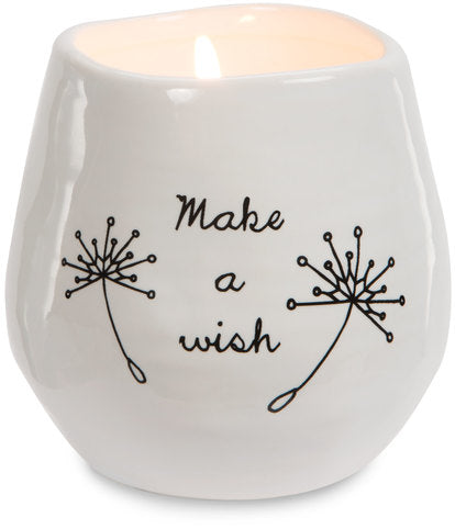 Make a Wish - 8 oz - 100% Soy Wax Candle Scent: Serenity