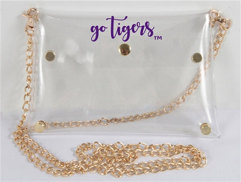 Clear Purse - Clemson Stadium Approved!
