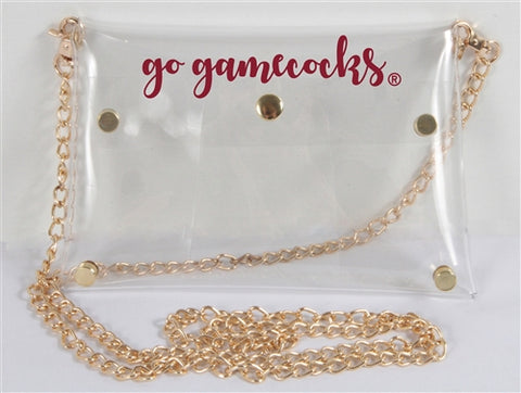 Clear Purse - Gamecocks Stadium Approved!