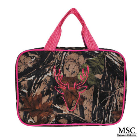 CAMO CAROLINA COSMETIC TRAVEL BAG