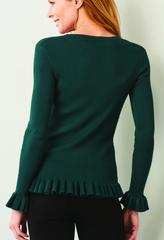Amaya Ruffle Sweater