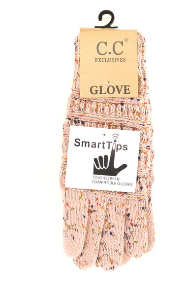 Speckled Indi Pink Gloves