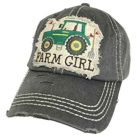 FARM GIRL BALL CAP