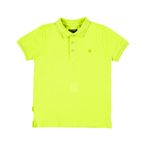 Pistachio basic polo shirt