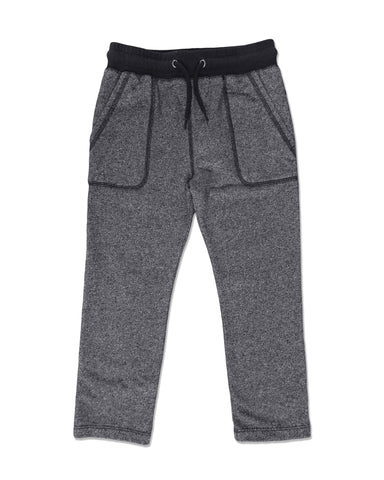JERSEY JOG PANTS IN GREY