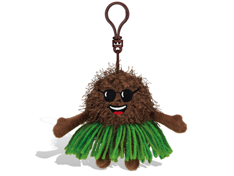 KING CONGA COCONUT BACKPACK CLIP