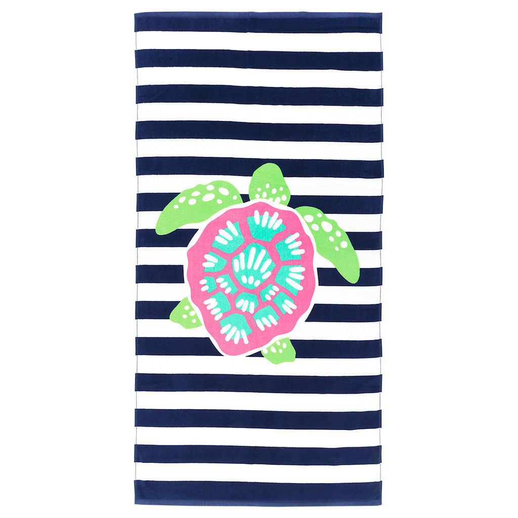 Turtle Stripe Towel