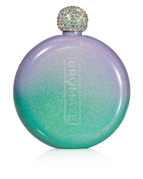 Glitter Flask by BrüMate | Mermaid