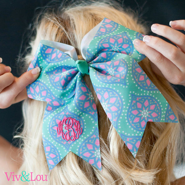 Viv& Lou Back to School Hairbows - monogram included!