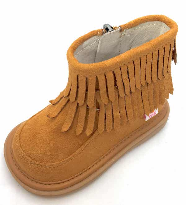piper fringe boot mooshu trainer