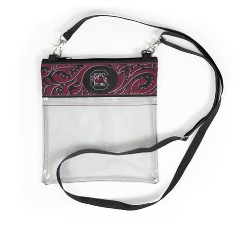 Gamecocks Clear Game Day Crossbody - Stadium Approved