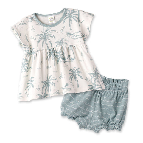Aloha Girls Shorts Set