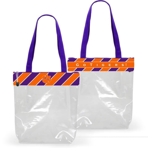 Clemson Stadium Tote - Stadium Approved