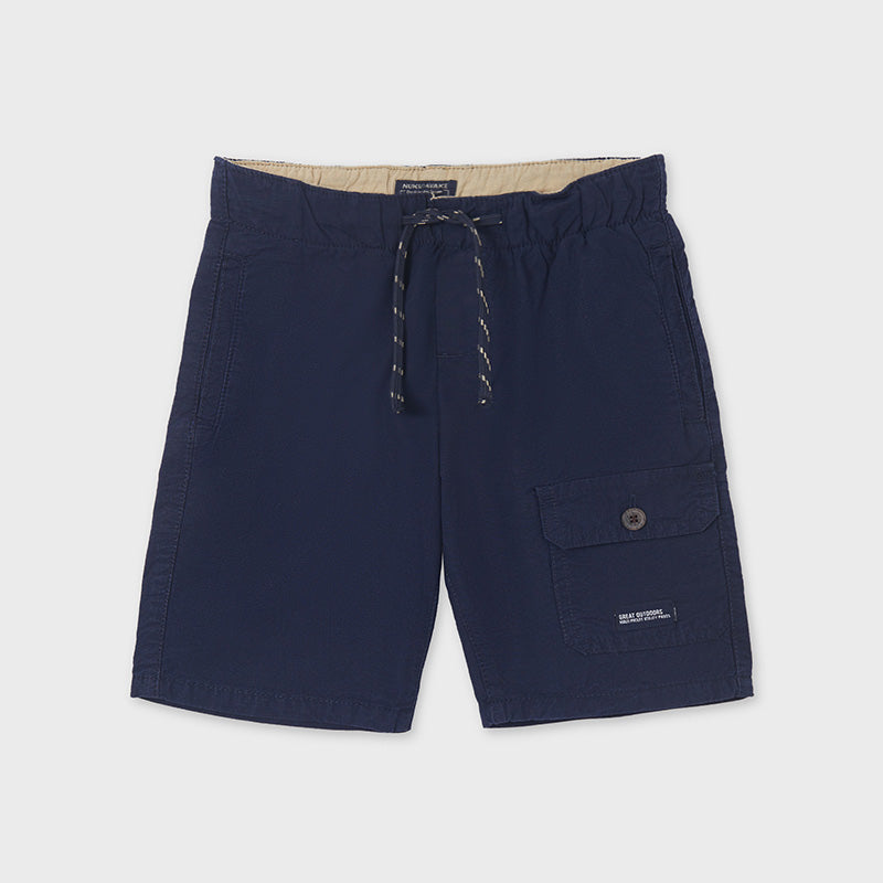 Plush bermuda shorts with side pocket for boy - Mayoral
